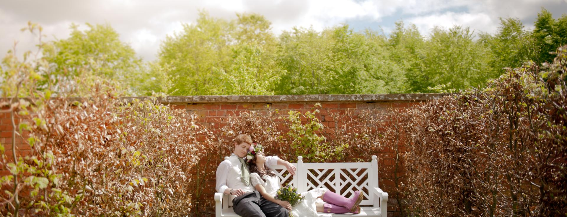 Wedding at The Colloquy, Herefordshire