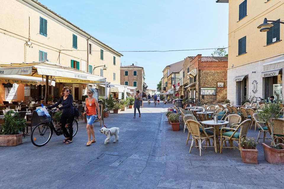 Nearby town Castiglione della Pescaia